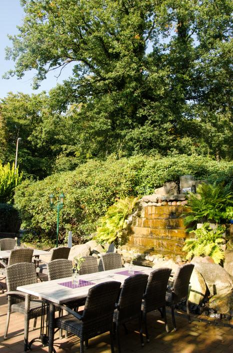 Ein weiterer Teil unserer Terrasse