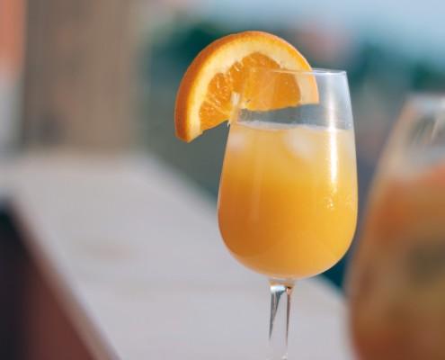 Sonntagsbrunch Limoncello Sandkrug Orangensaft